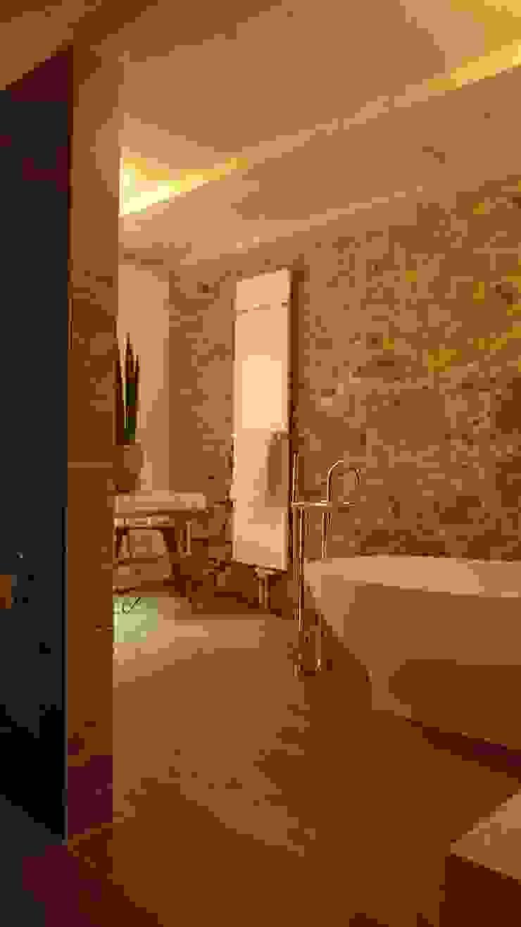 Baños de estilo moderno de Junghanns + Müller Architekten Moderno