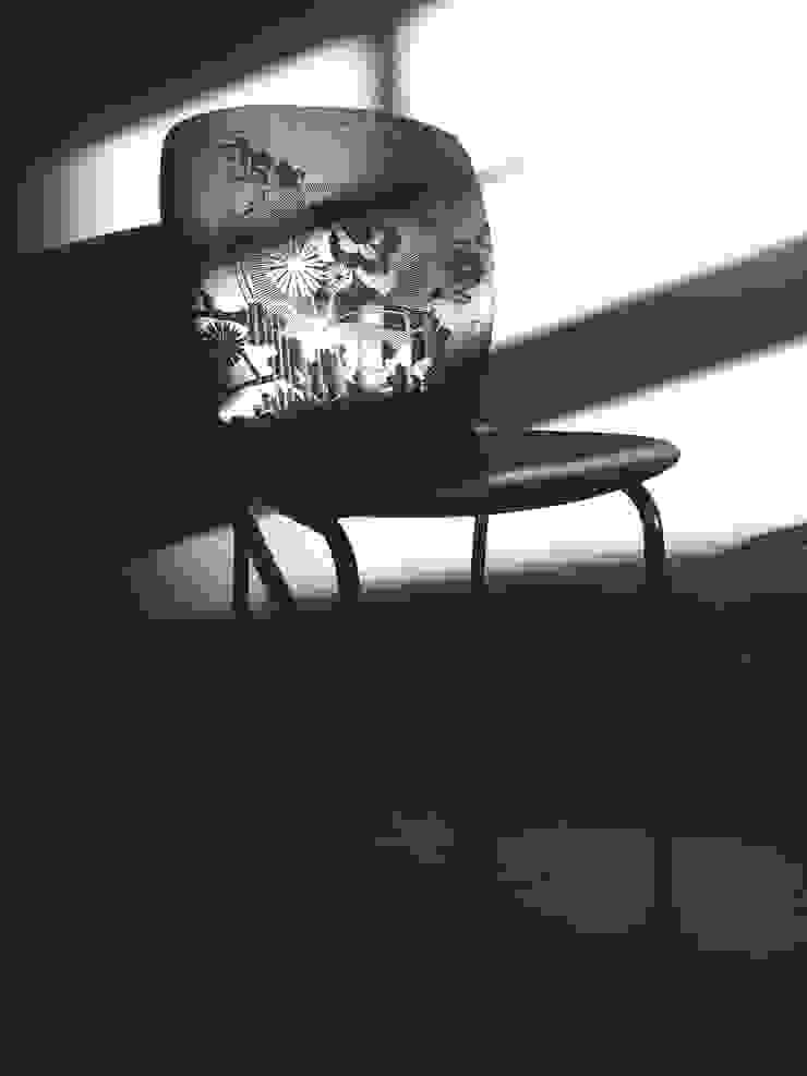 YOURS stoel • ontwerpstudio Roi de Bruijn: modern  door ontwerpstudio Roi de Bruijn, Modern