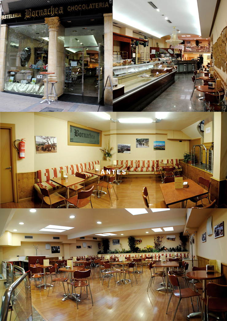 estado previo Bares y clubs de estilo moderno de interior03 Moderno