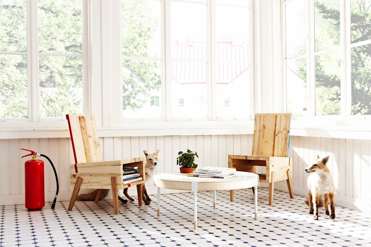 Woonkamer door Baltic Design Shop