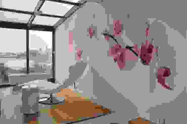 sypialnia prywatna Tarna Design Studio Minimalistyczna sypialnia