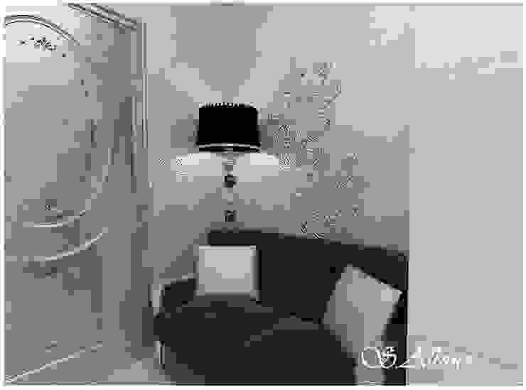 Дизайн -проект квартиры, по улице Касаткина Коридор, прихожая и лестница в эклектичном стиле от студия авторского дизайна Альбины Сибагатулиной Эклектичный