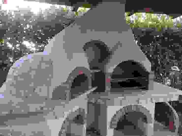 Rustic style garden by Fazzone camini Rustic