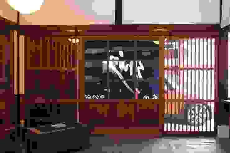 神ノ前アトリエ アジア・和風の 窓&ドア の 田中博昭建築設計室 和風 木 木目調