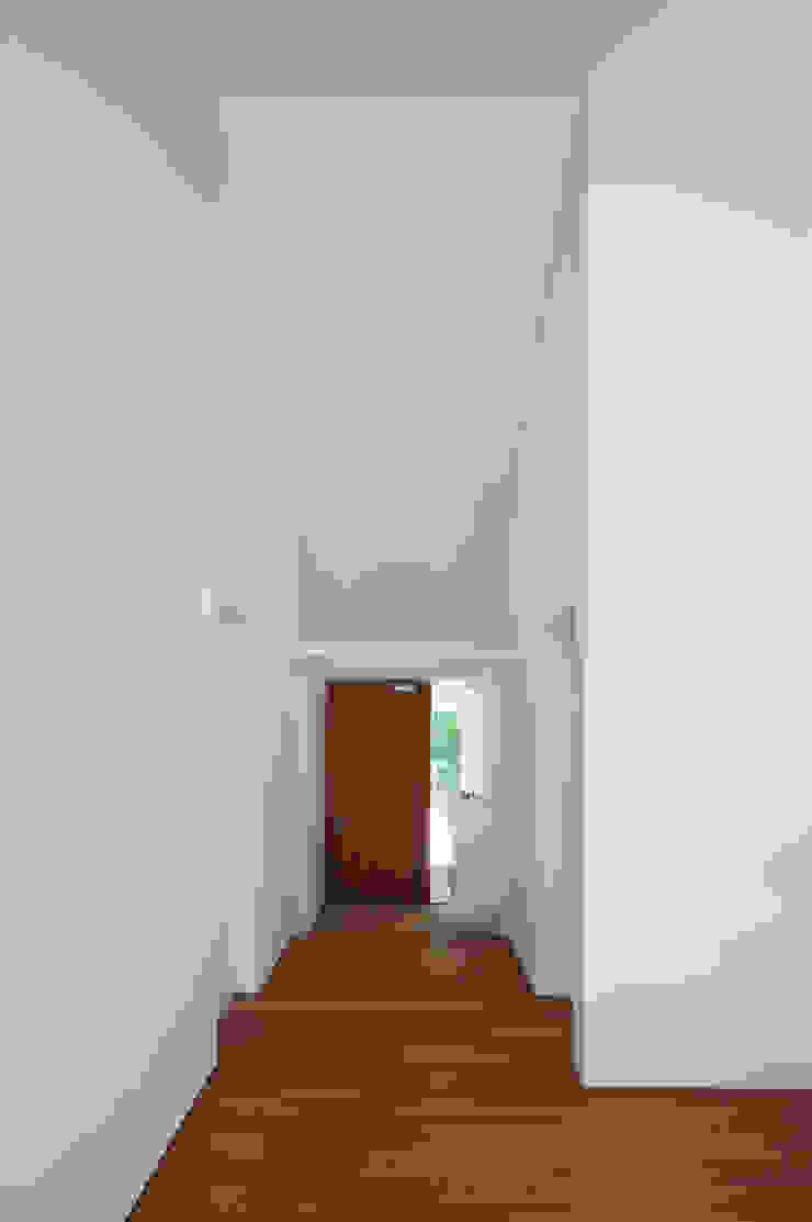 . モダンスタイルの 玄関&廊下&階段 の 株式会社 直井建築設計事務所 モダン