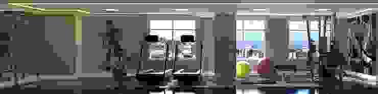 Espaço Fitness Fitness moderno por Monte Arquitetura Moderno