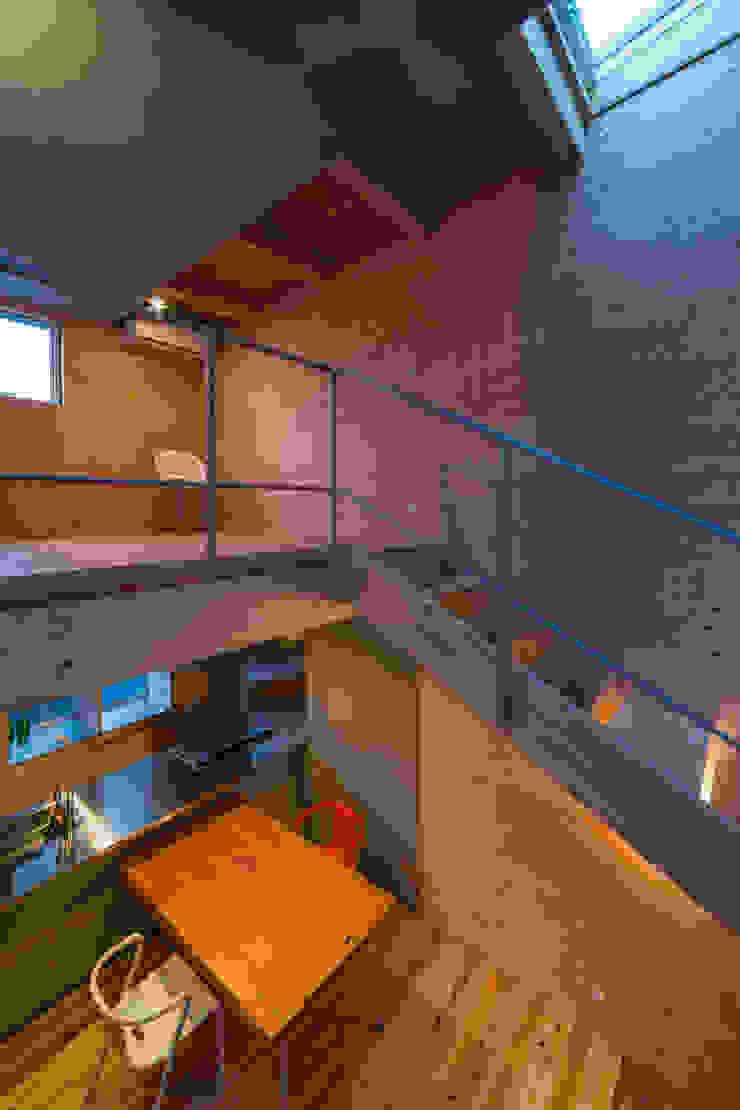 Modern Duvar & Zemin アトリエセッテン一級建築士事務所 Modern