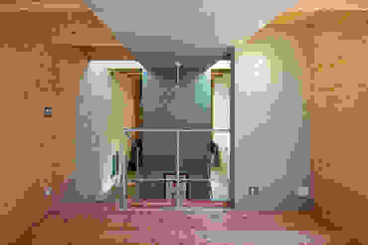Modern Yatak Odası アトリエセッテン一級建築士事務所 Modern