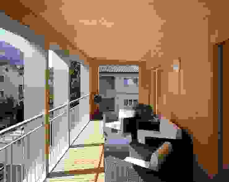 Terrasse de style  par hwp ARCHITEKTEN AG, Éclectique