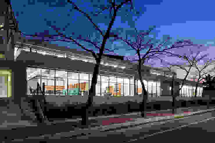 ADF Architects Scuole moderne Pietra Metallizzato/Argento