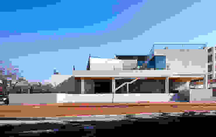 ADF Architects Scuole in stile minimalista Pietra Bianco