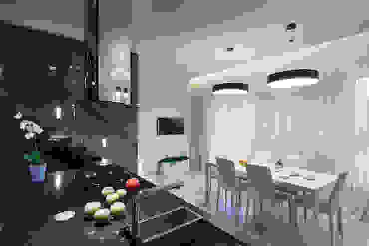 Кухня-столовая. Столовая комната в стиле минимализм от (DZ)M Интеллектуальный Дизайн Минимализм