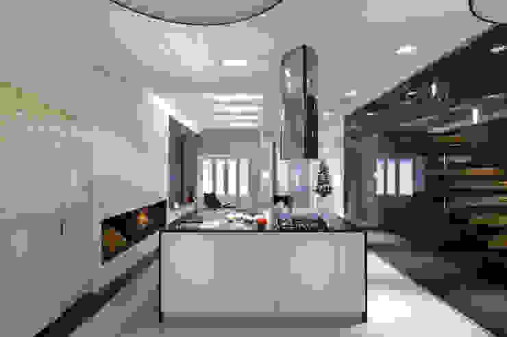 Кухня Кухня в стиле минимализм от (DZ)M Интеллектуальный Дизайн Минимализм