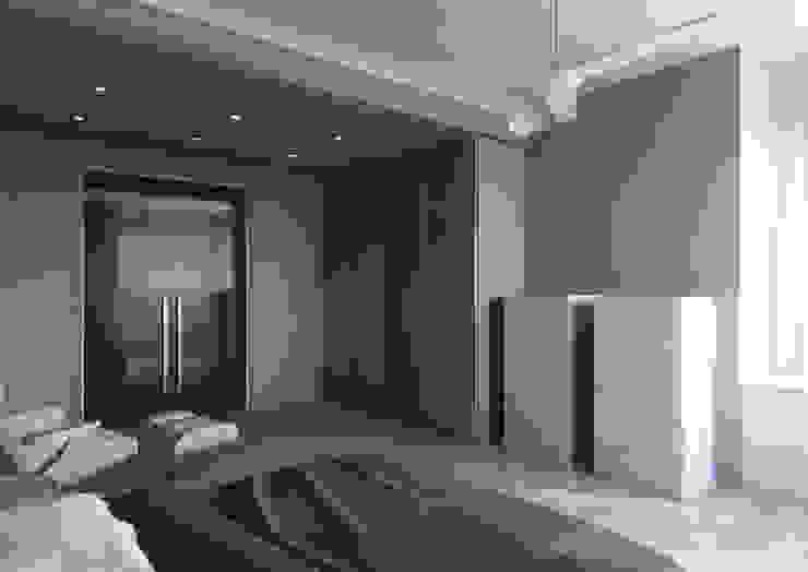 Milano 2 – Residenza Orione Camera da letto moderna di Architetto ANTONIO ZARDONI Moderno