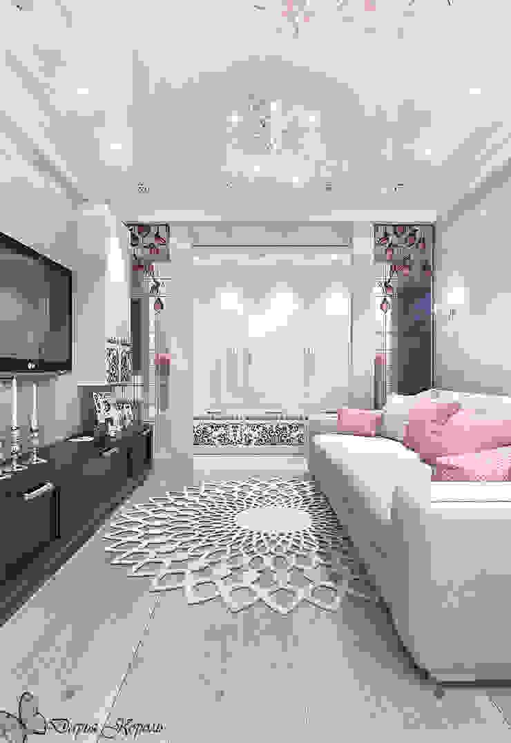 Перепланировка в 3х комнатной панельной чешке Гостиная в стиле минимализм от Your royal design Минимализм
