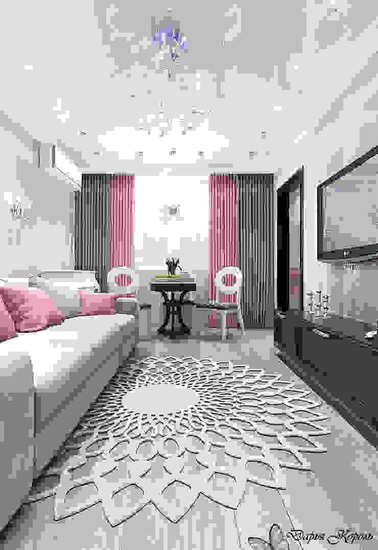Перепланировка в 3х комнатной панельной чешке Гостиные в эклектичном стиле от Your royal design Эклектичный