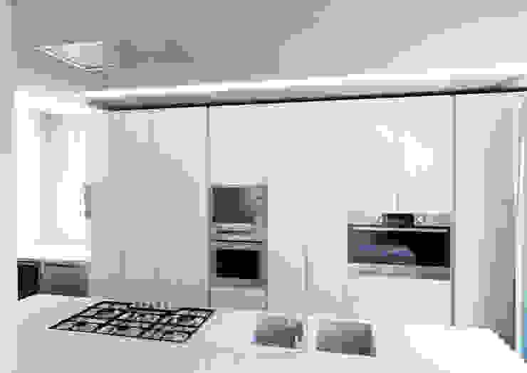 Attico su due livelli a Desio Cucina moderna di Architetto ANTONIO ZARDONI Moderno