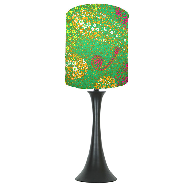 Green vintage lampshade di bymarie Classico