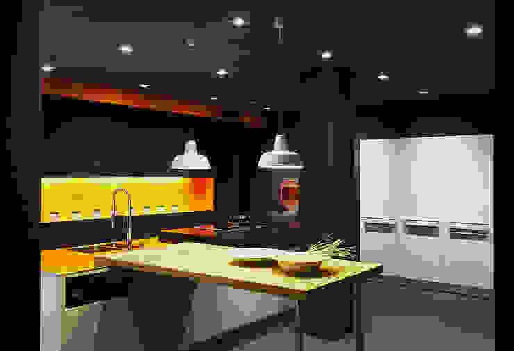 Cocinas de estilo moderno de Joppe Exklusive Einbauküchen GmbH Moderno