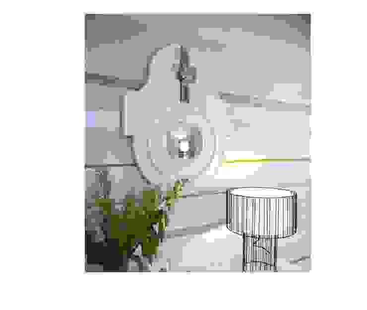 """Круглое зеркало """"Сигнас"""":  в современный. Автор – IFdecor, Модерн"""