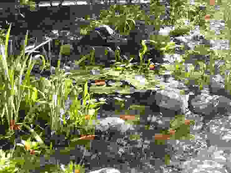 小さな池のある庭 | Adachi オリジナルな 庭 の jardinier Kirikui オリジナル