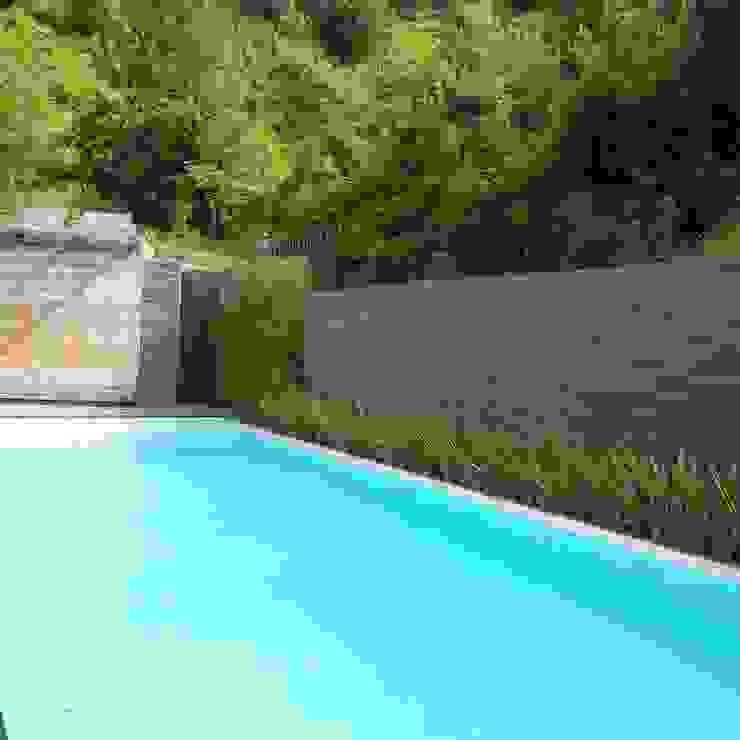 Jardines de estilo moderno de abelia peyzaj Moderno