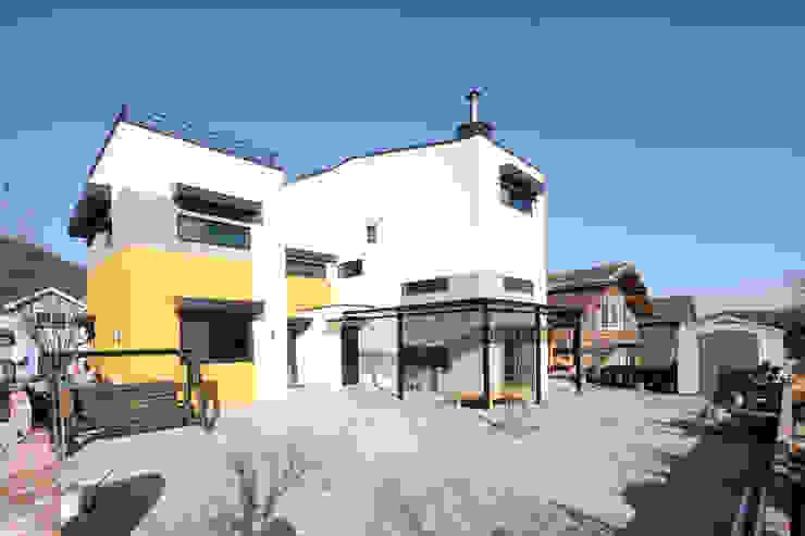 주택설계전문 디자인그룹 홈스타일토토 Casas estilo moderno: ideas, arquitectura e imágenes