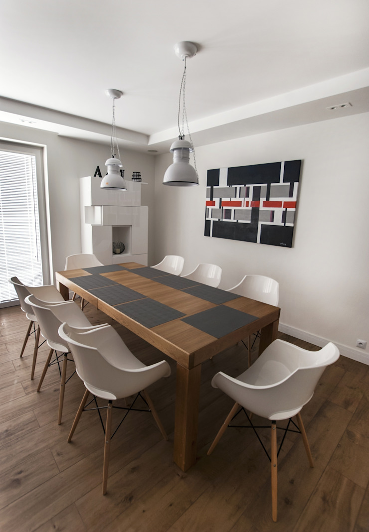Antracyt Scandinavian style dining room