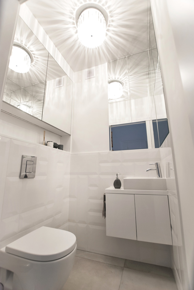 Antracyt Modern bathroom
