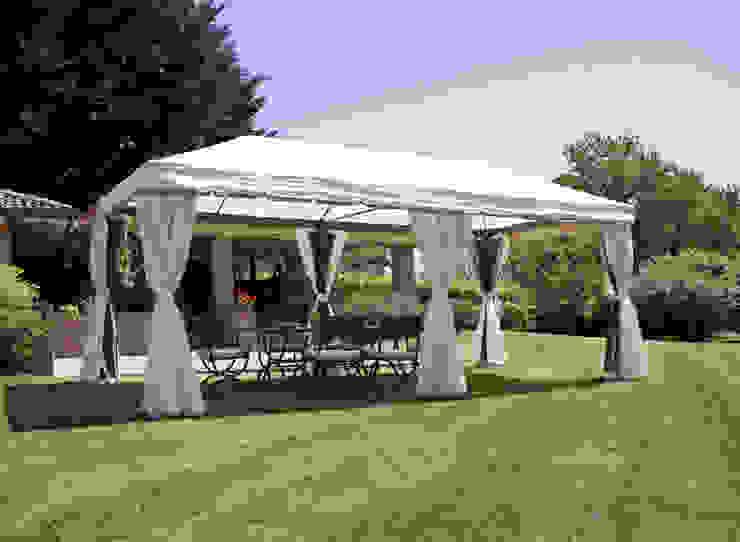 Cenador de jardín rectangular 6x3 metros de El Jardín de Ana Clásico