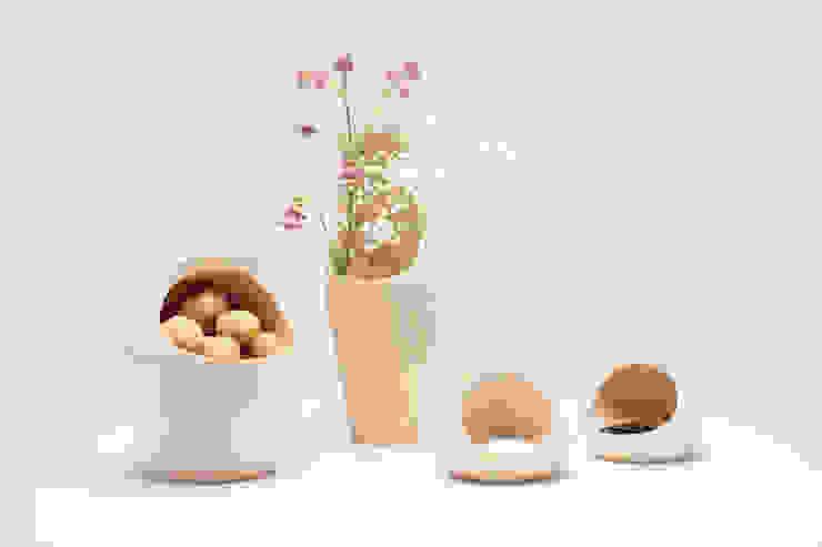 Serie vases van Studio Daan Brandenburg Landelijk