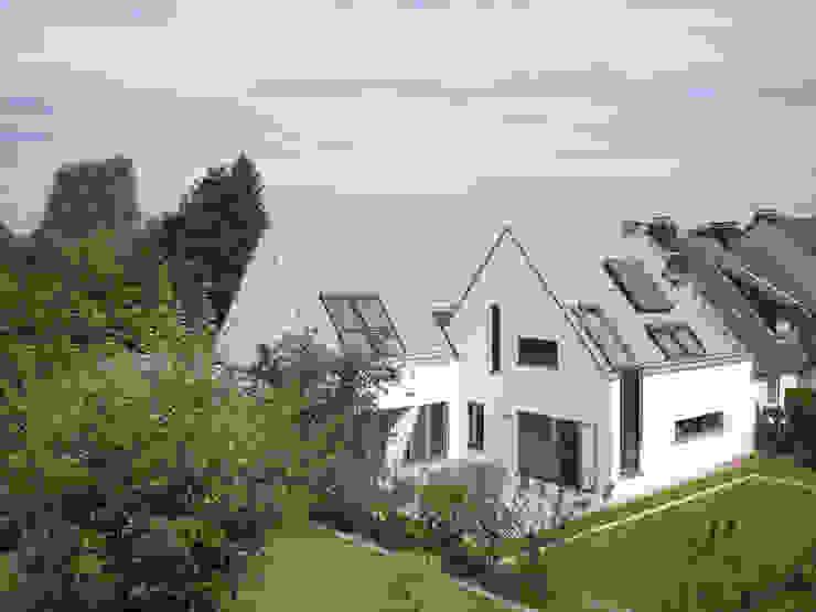 Ansicht vom Garten Moderne Häuser von Koschany + Zimmer Architekten KZA Modern