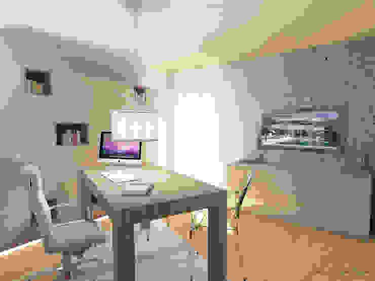 Arch. Giorgia Congiu Modern Study Room and Home Office