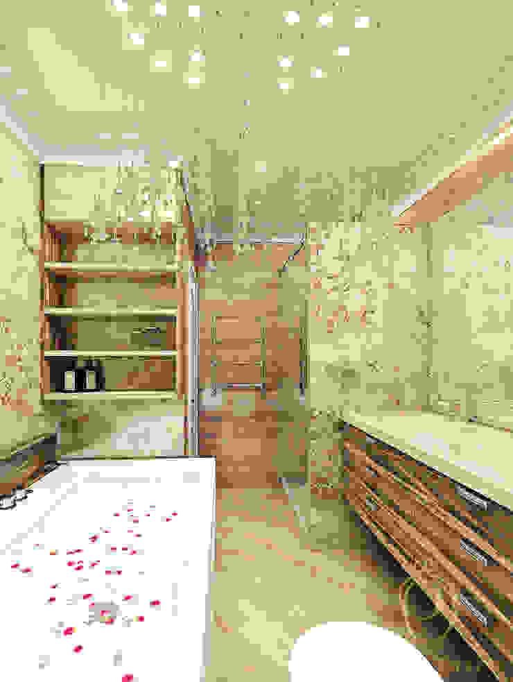 Белое золото Ванная в классическом стиле от Premier Dekor Классический