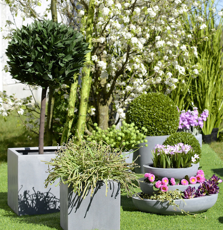 Pimp up your Garden: modern  door Groothandel in decoratie en lifestyle artikelen, Modern