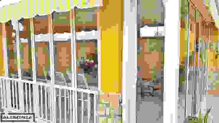 Cerramientos Plegables Balcones y terrazas de estilo clásico de Aluminia Sistemas y Accesorios S.L. Clásico