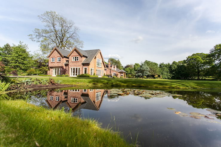 Lakeside Garden, Cheshire par Barnes Walker Ltd