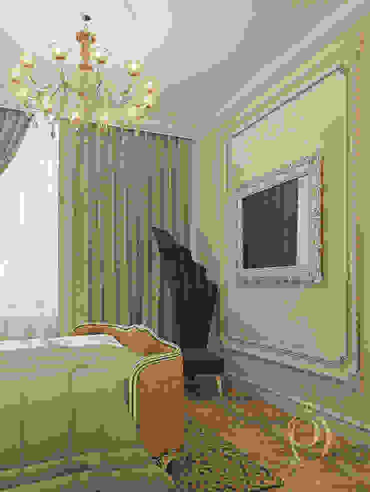 Белое золото Спальня в классическом стиле от Premier Dekor Классический