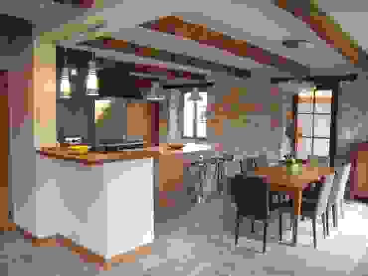 Rénovation complète d'une cuisine Cuisine moderne par Atelier Cuisine Moderne