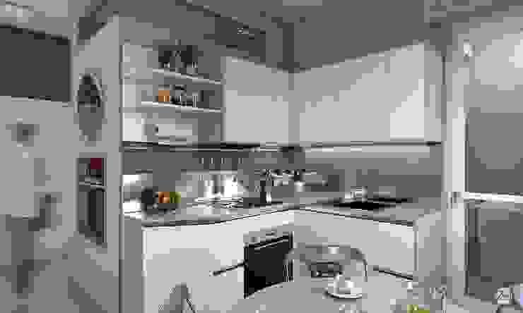 Cocinas de estilo moderno de Studio 7sei Moderno