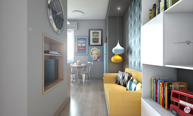 Livings de estilo moderno de Studio 7sei Moderno