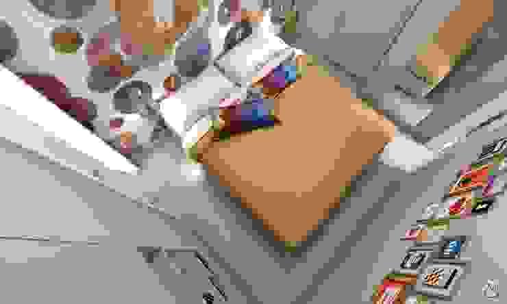 Dormitorios de estilo moderno de Studio 7sei Moderno