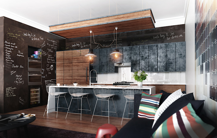 KITCHENS Modern Mutfak BA DESIGN Modern