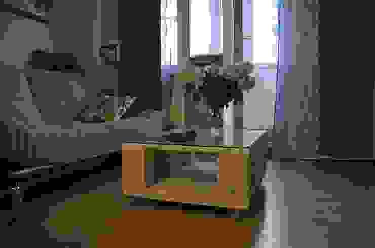 Журнальный столик из паллет на колесиках от WoodMorning!_pallet joinery Лофт