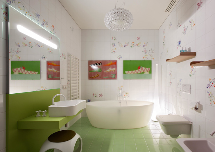 Kamar Mandi Minimalis Oleh VOX Architects Minimalis