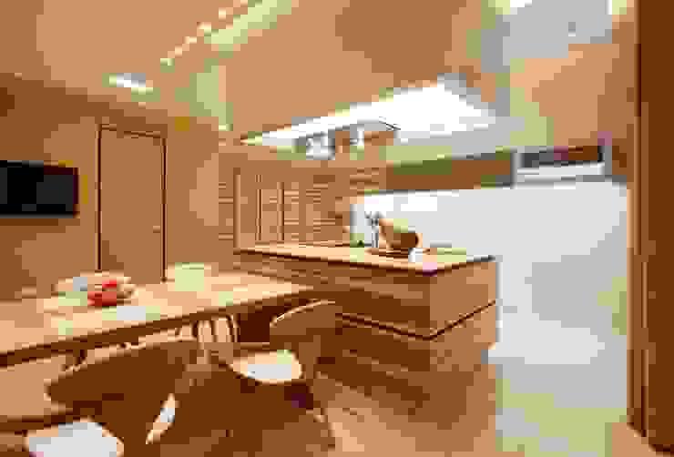 Minimalist Mutfak VOX Architects Minimalist
