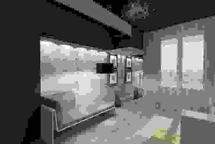 Дом Спальня в стиле модерн от Мастерская дизайна ЭГО Модерн