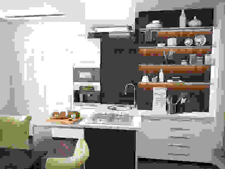 Восточные нотки Кухни в эклектичном стиле от Проектное бюро O.Diordi Эклектичный