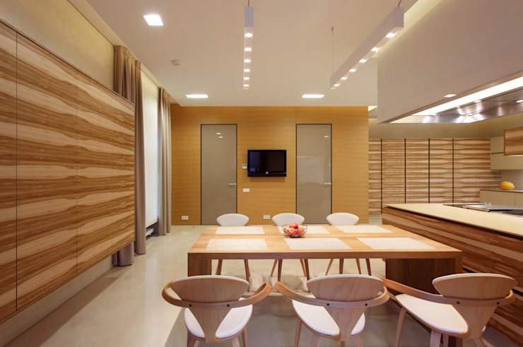 Ruang Makan Minimalis Oleh VOX Architects Minimalis