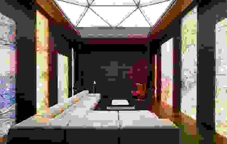 Ruang Media Minimalis Oleh VOX Architects Minimalis